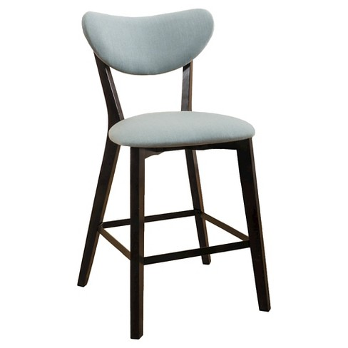 """Set of 2 24.5"""" Ferra Counter Stool Teal - Christopher Knight Home - image 1 of 4"""