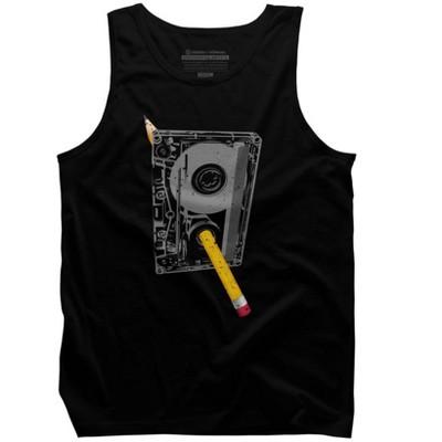 Rewind Mens Graphic Tank Top - Design By Humans