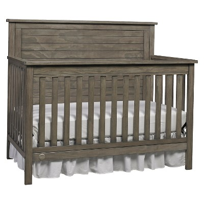 Fisher-Price Quinn 4-in-1 Convertible Crib - Vintage Gray