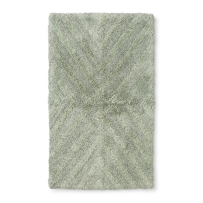 34 x20  Tufted Bath Rug Green - Project 62™ + Nate Berkus™