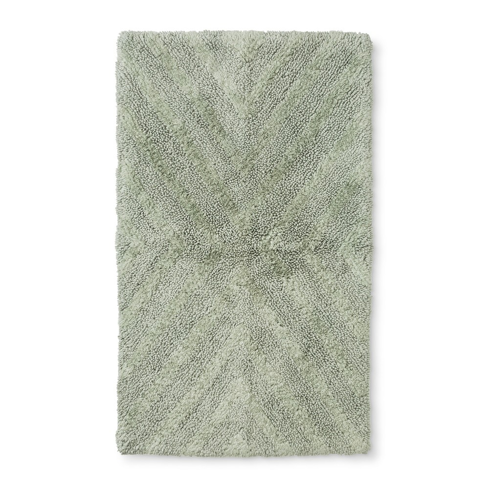 "Image of ""34""""x20"""" Tufted Bath Rug Green - Project 62 + Nate Berkus"""