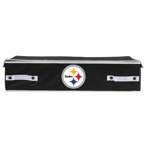NFL Franklin Sports Pittsburgh Steelers Under The Bed Storage Bins - image 1 of 4