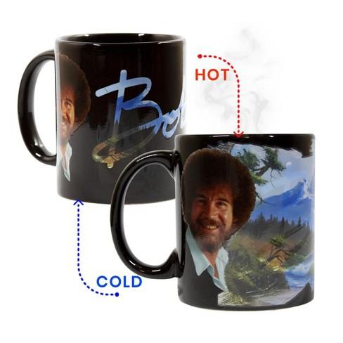 Surreal Entertainment Bob Ross Exclusive Color Change Ceramic Coffee Mug 12 ounces - image 1 of 4