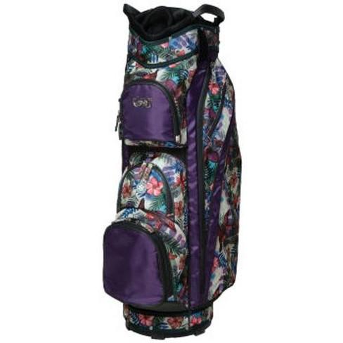 87dba9bfff5 Glove It Ladies 14 Way Golf Cart Bag Tropical Purple : Target