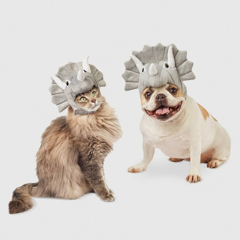 Triceratops Dog and Cat Costume - Hyde & EEK! Boutique™ - image 1 of 4