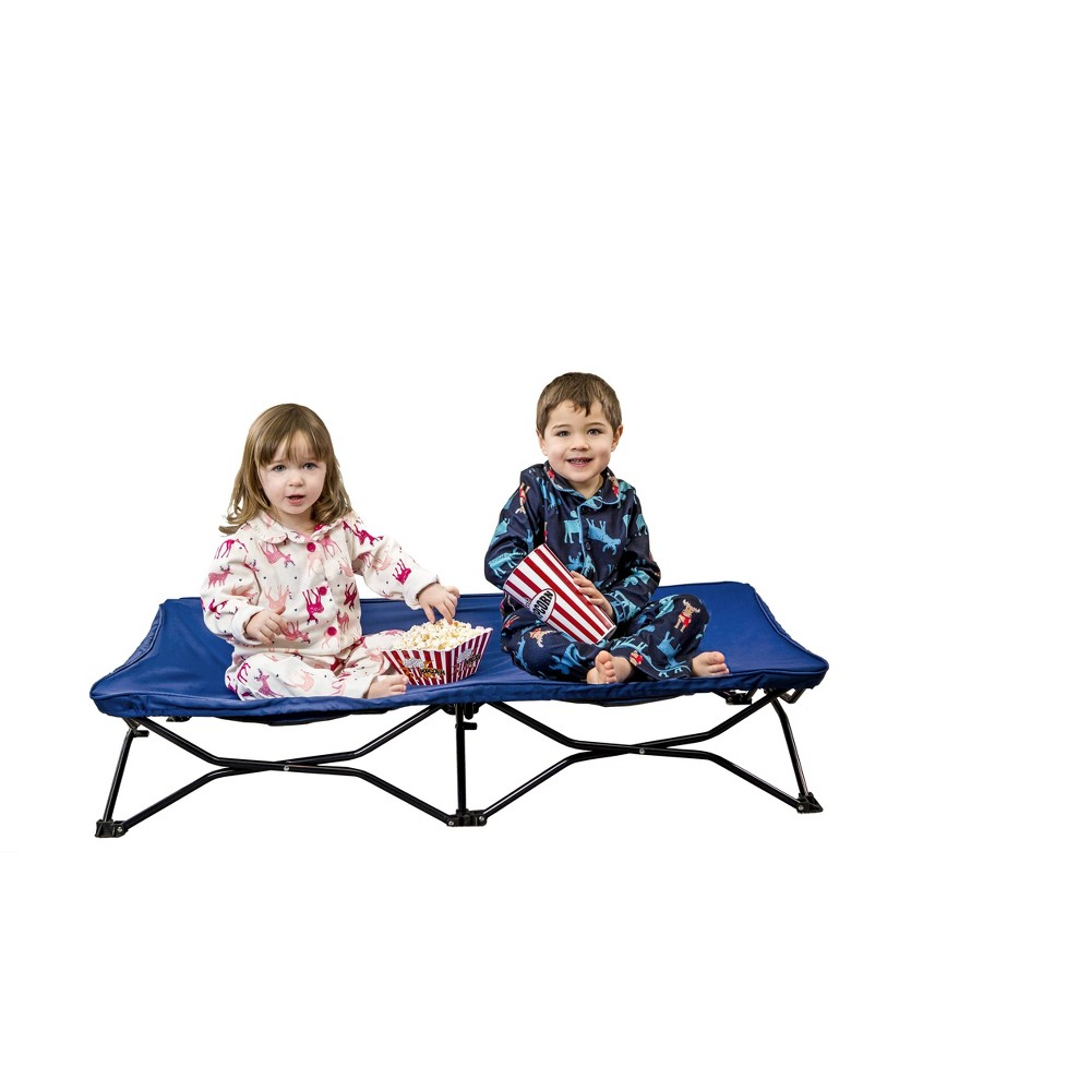 Image of Regalo My Cot Portable Child Travel Bed - Blue