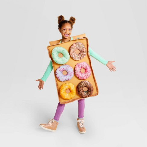 Adult and Kids' Donut Box Hallowen Costume Bodysuit One Size - Hyde & EEK! Boutique™ - image 1 of 2