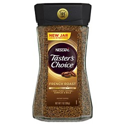 Nescaf Taster's Choice French Roast Medium Dark Roast Instant Coffee - 7oz