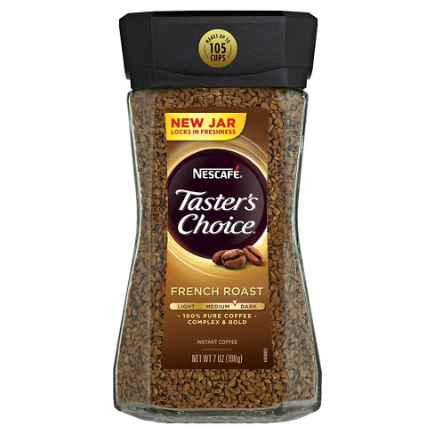 Nescafé Taster's Choice French Roast Medium Dark Roast Instant Coffee - 7oz - image 1 of 5