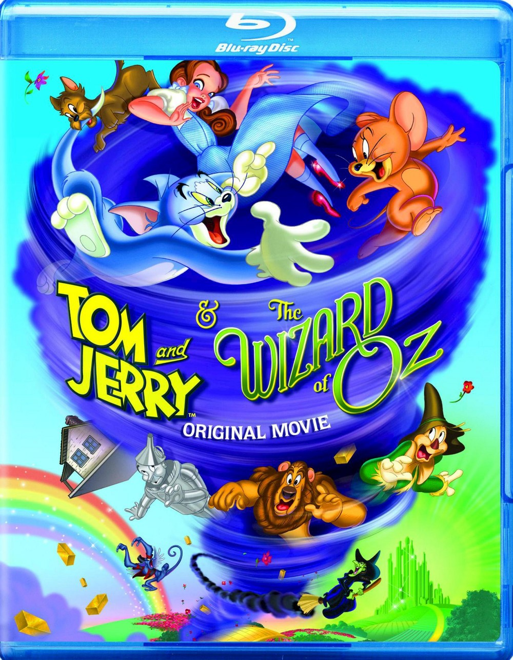 Warner Brothers Tom and Jerry & The Wizard of Oz (2 Discs...