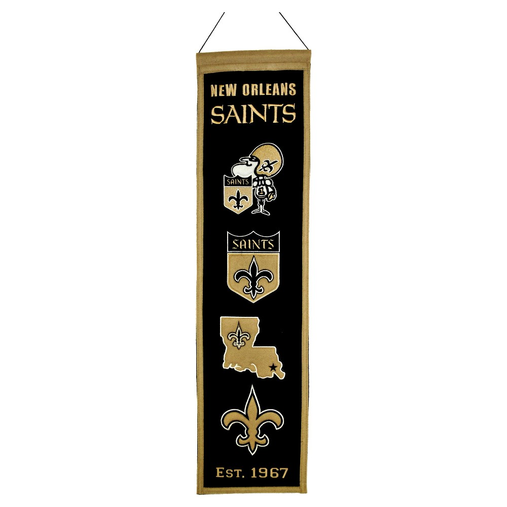 New Orleans Saints Winning Streak Heritage Banner
