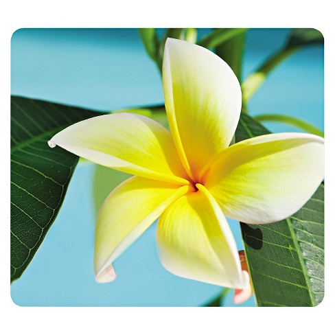 Fellowes Recycled Mouse Pad, Nonskid Base - Yellow Flowers - image 1 of 1