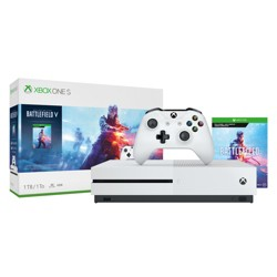 Xbox One S 1 TB Battlefield V Deluxe Edition Bundle