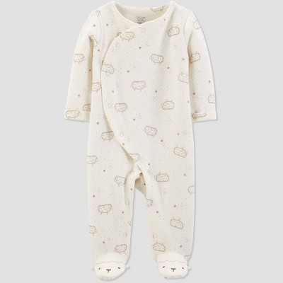Baby Boys' Collection Sheep Sleep 'N Play - Just One You® made by carter's Ivory 6M