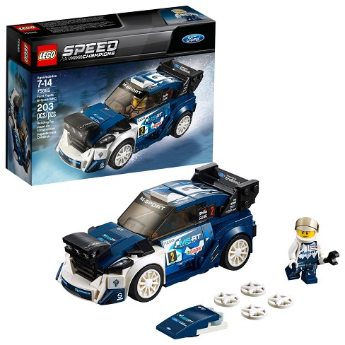 lego speed champions ford fiesta m sport wrc 75885 target. Black Bedroom Furniture Sets. Home Design Ideas