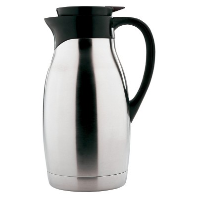 Copco Carafe - 2 Quarts, Brushed Stainless Steel