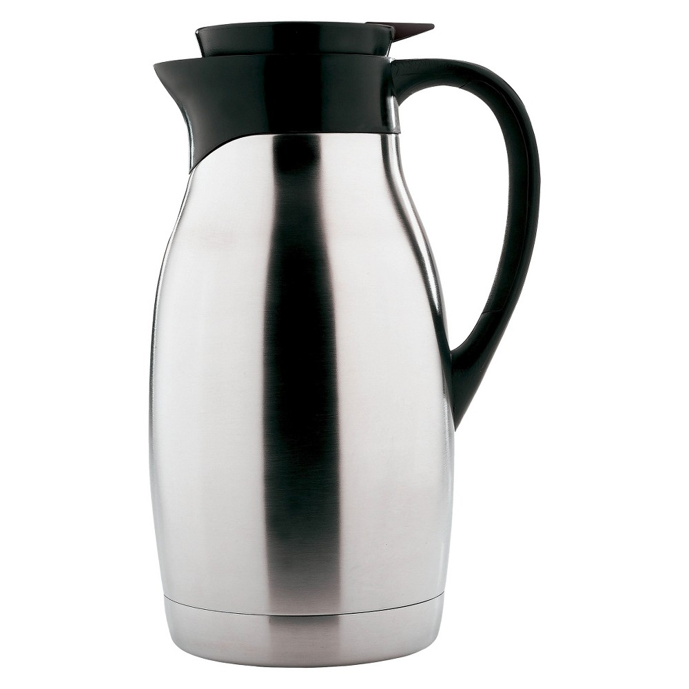 Copco Carafe - 2 Quarts, Brushed Stainless Steel, Silver