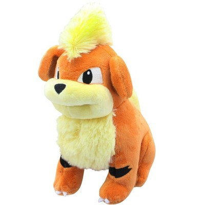 Sanei Pokemon Growlithe 7 Inch Collectible Character Plush