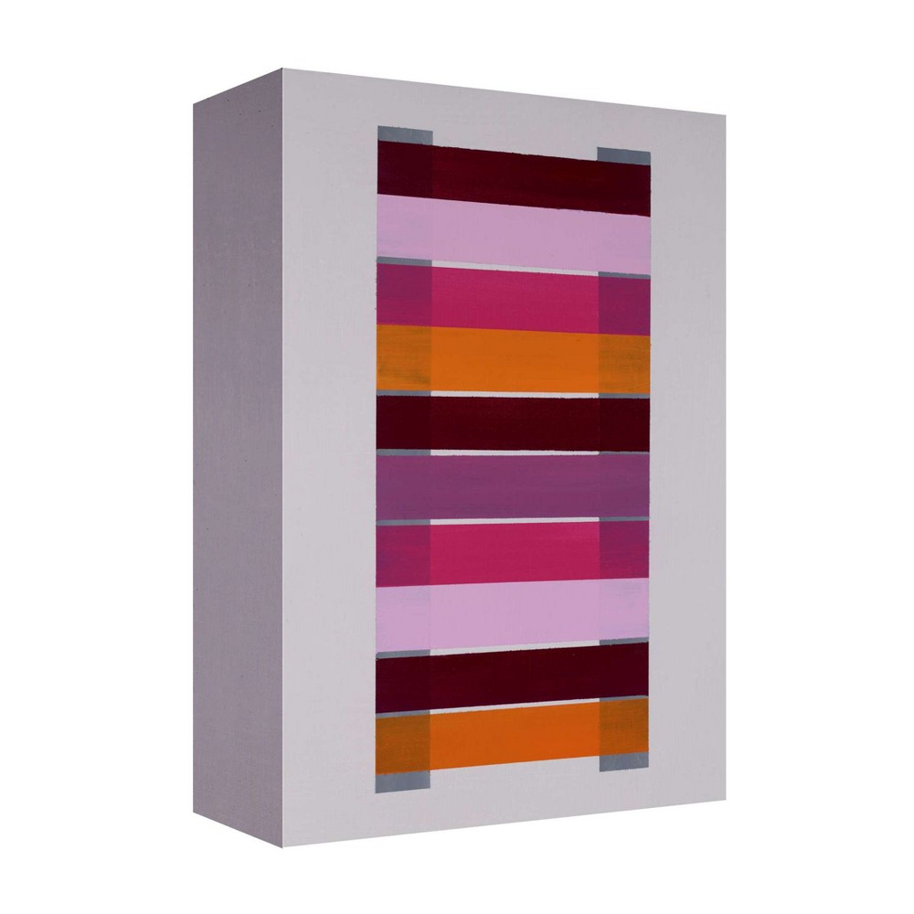 Beautifully Hand Embellished Canvas Fun House 22 Decorative Wall Art - Ptm Images, Multi-Colored