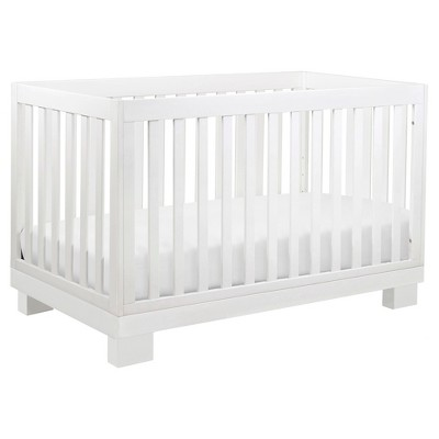 Babyletto Modo 3-in-1 Convertible Crib with Toddler Rail - White