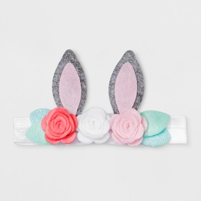 Girls' Floral Bunny Ears Headbands - Cat & Jack™