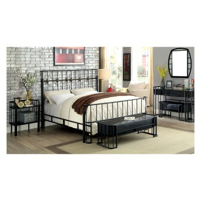 Iohomes Carini Industrial Bedroom Set   HOMES: Inside + Out