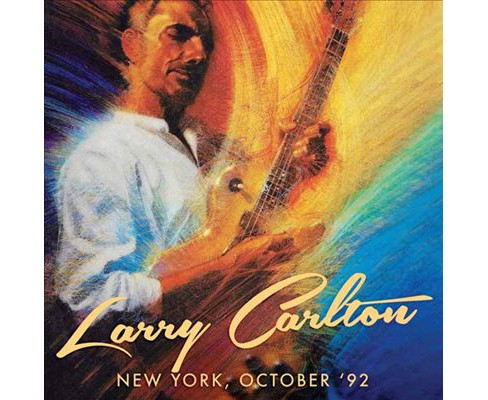 Larry carlton - New york october 92 (CD) - image 1 of 1