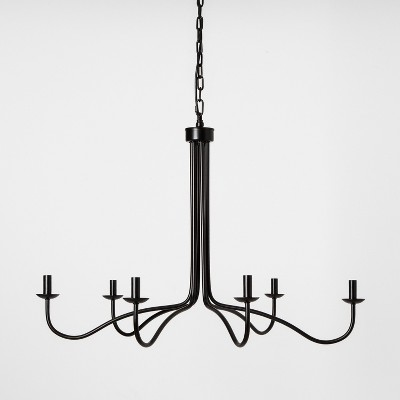 Metal Chandelier Black - Hearth & Hand™ with Magnolia