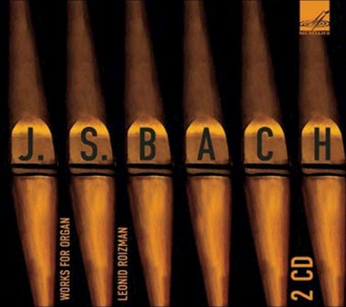 Leonid roizman - Bach:Works for organ (CD) - image 1 of 1
