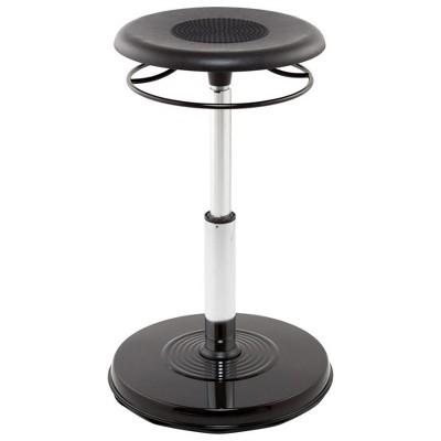 "Kore Teen Adjustable Wobble Chair 18""--25"" - Black"