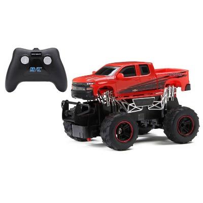 New Bright Radio Control Toy Vehicle - Chevy Silverado -1:24 Scale