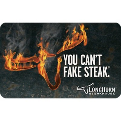 LongHorn Steakhouse $50 (Email Delivery)