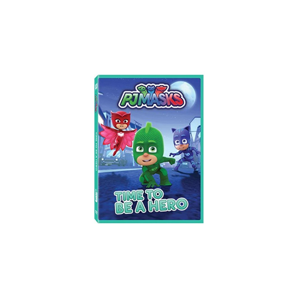 PJ Masks: Time To Be A Hero (Dvd)