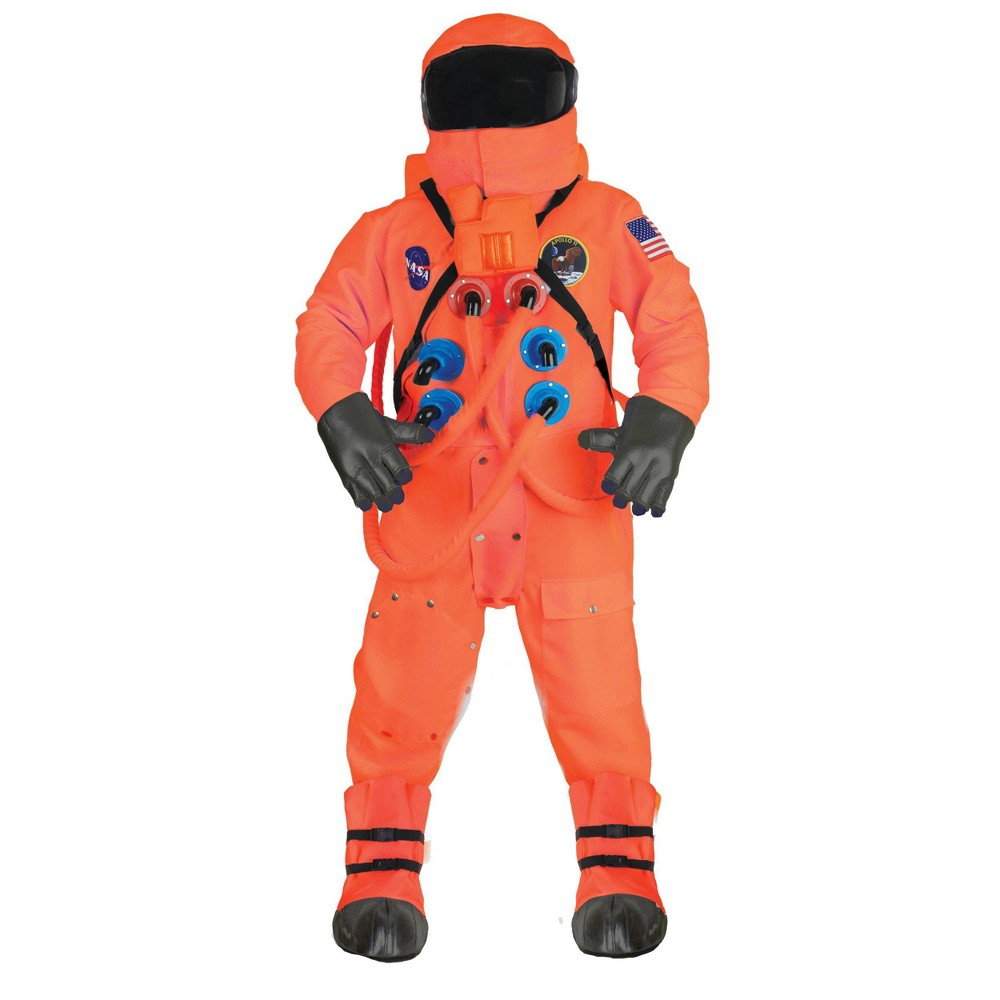 Image of Halloween Adult Astronaut Deluxe Halloween Costume One Size, Adult Unisex, MultiColored