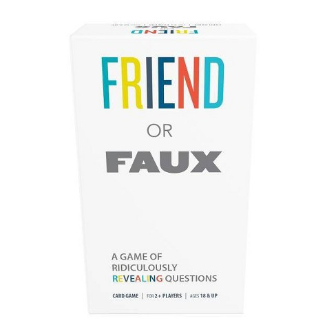 Games Adults Play Friend or Faux Game - image 1 of 4