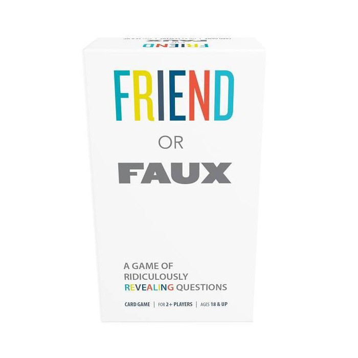 Games Adults Play Friend Or Faux Game : Target
