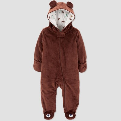 Baby Boys' Bear Jacket - Just One You® made by carter's Brown 3M