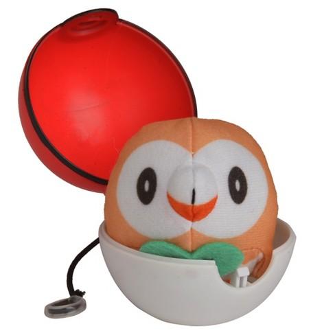 Pokemon Rowlet Pop Action Poke Ball - image 1 of 3