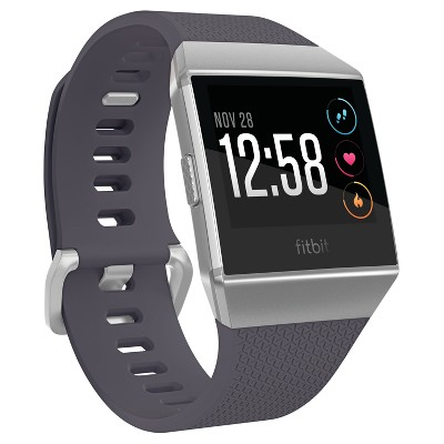 Fitbit® Ionic Smartwatch Small/Large - Silver/Gray