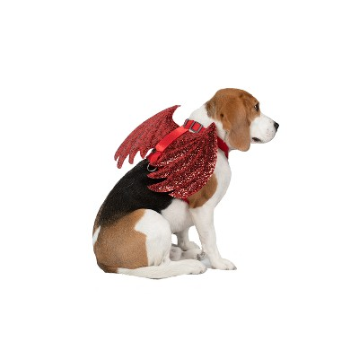 Devil Harness Dog Halloween Costumes - Red - M - Hyde and Eek! Boutique™
