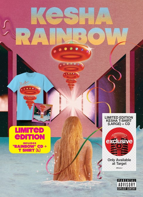 Kesha - Rainbow (CD + Target Exclusive T-Shirt) Bundle - image 1 of 1
