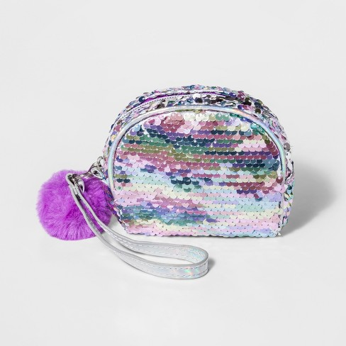 b7495671e2b Girls  Sequins Dome Wristlet - Cat   Jack™   Target