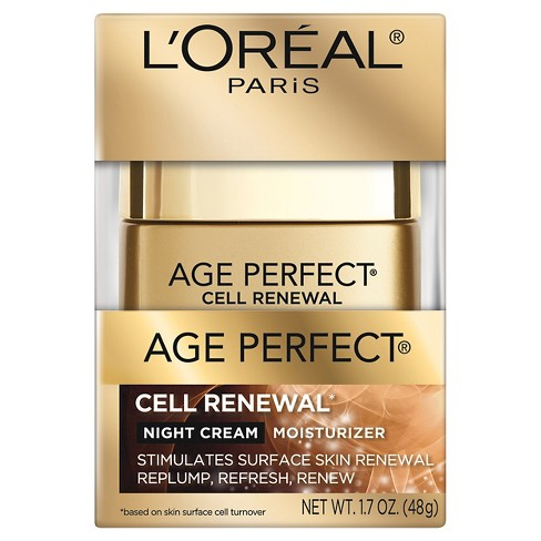 L'Oreal Paris Age Perfect Cell Renewal Night Cream 1.7oz - image 1 of 2