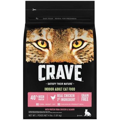 Crave Grain Free Indoor with Chicken & Salmon Adult Premium Dry Cat Food
