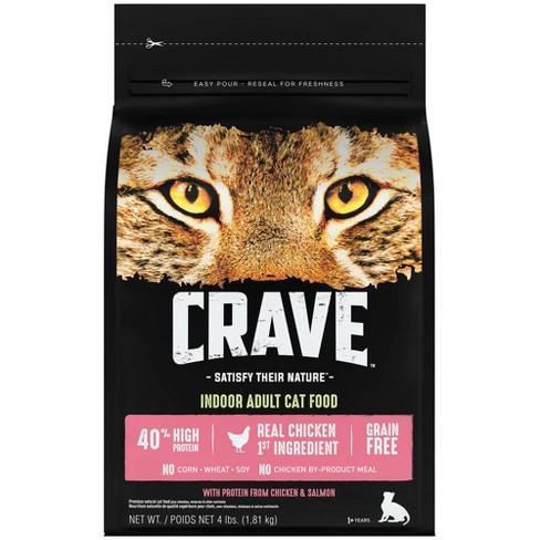 Crave Grain Free Indoor Dry Cat Food With Protein From Chicken And