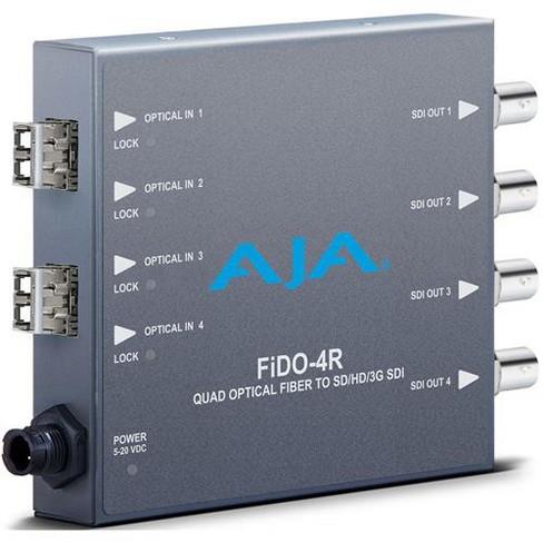 AJA FiDO Quad Channel LC Fiber to 3G-SDI Mini Converter - image 1 of 1
