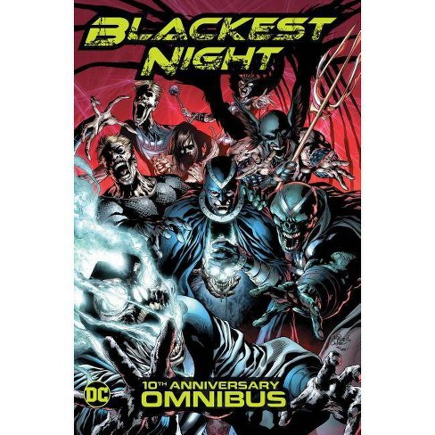Blackest Night Omnibus (10th Anniversary) - by  Geoff Johns & Peter J Tomasi (Hardcover) - image 1 of 1