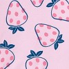 Toddler Girls' 4pc Strawberry Snug Fit Pajama Set - Just One You® made by carter's - image 3 of 3