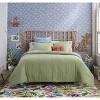 Twin/Twin XL Solid Cotton Gauze Tasseled Comforter Set Sage - Opalhouse™ - image 2 of 4