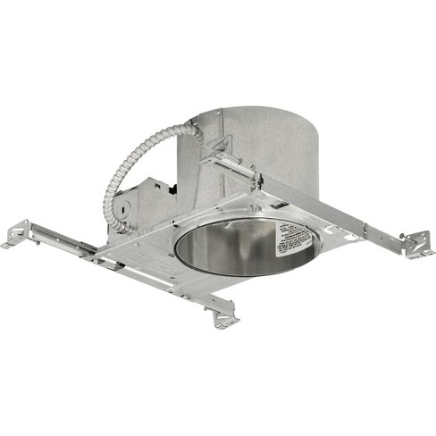 """Progress Lighting P86-TG 6"""" New Construction Recessed Housing for Shallow Ceilings - IC and Non-IC Rated - image 1 of 1"""